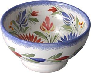Quimper Fleuri Royal Rustic Bowl
