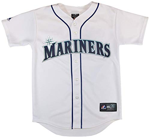 Outerstuff Seattle Mariners Blank White Youth Authentic Home Replica Jersey (X-Large 18/20) by Outerstuff