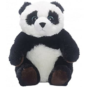 Oso Panda - 25cm - kit para realizar crear un oso de peluche, llevar animales