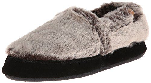 Acorn Moc Slipper - Women's Chinchilla, L