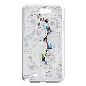 Samsung Galaxy N2 7100 Cell Phone Case White Envato art VIU044214