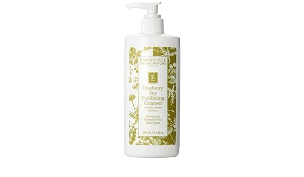Eminence arándanos soja exfoliante limpiador 8 oz fresca | Eminence Blueberry Soy Exfoliating Cleanser 8 oz Fresh: Amazon.es: Belleza