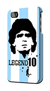 S1790 Argentina Maradona Legend 10 Case Cover For IPHONE 4 4S