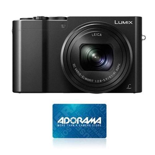 Panasonic Lumix DMC - dmc-zs100デジタルカメラ、ブラック – bundle- $ 50 Adorama Giftcard   B01GFA8NY8
