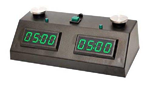 ZMF-II Chess Clock - Black with Green LED