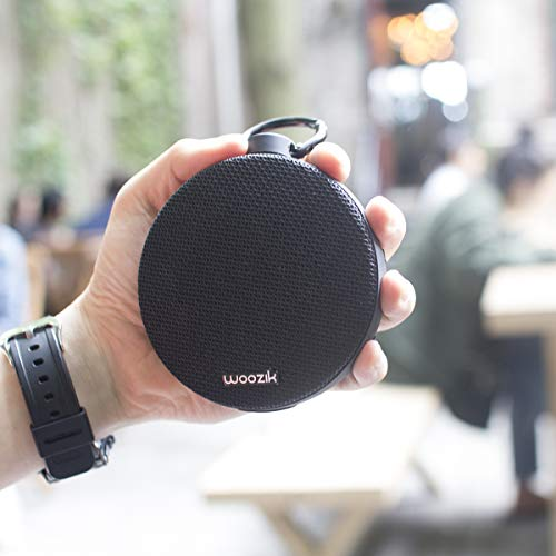 WOOZIK Bluetooth 4 2 Speaker, Go Portable Speaker with Enhanced Stereo and  Bass, IPX5 Waterproof, 10H Playtime, Built-in Mic, Micro SD Card Slot,