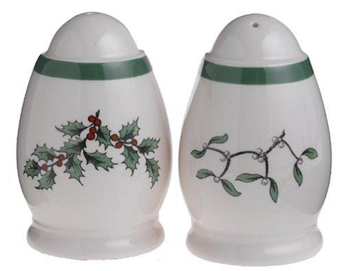 Spode Christmas Tree Salt - Spode Christmas Tree Small Salt and Pepper Set
