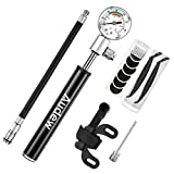 Best Bike Tire Gauges - Audew Mini Bike Pump - 7.8Inches Portable Review