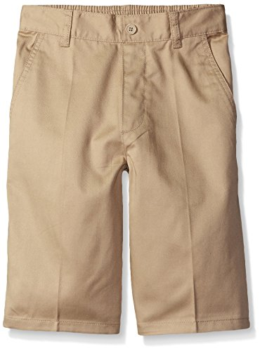 Back Elastic Twill Shorts (French Toast Little Boys' Toddler Pull-On Short, Khaki,)