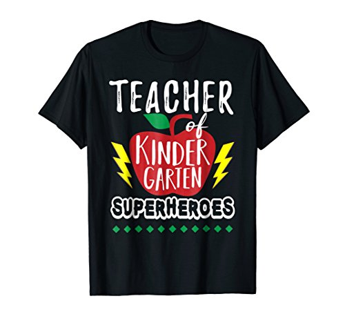 Teacher of Kindergarten Superheroes Teacher Team T