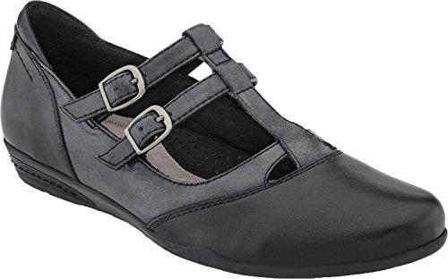 Earth Women's Black Gemma 8.5 Medium US (Earth Shoes Mary Jane)