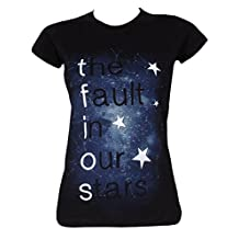 The Fault In Our Stars Women's Galaxy TFIOS T-shirt Black