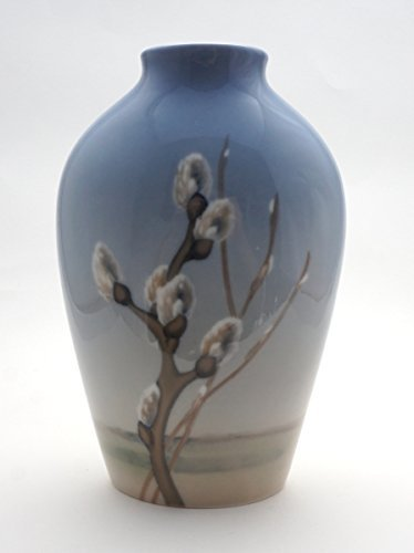 ビングオーグレンダール (ロイヤルコペンハーゲン) ネコヤナギ 猫柳 花瓶 B06XQ3NFQS