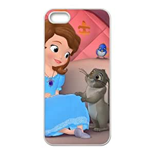 iPhone 4 4s Cell Phone Case White Disney Sofia the First Character Clover F7653452