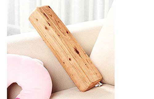 クリエイティブシミュレーション木製シェイプ枕Stakes Plusソファオフィスクッションby shopidea B0762P1CP3