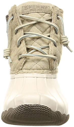 Sperry Top-Sider Womens Saltwater Quilted Wool Rain Boot Oyster/Oatmeal 9Vo40Q