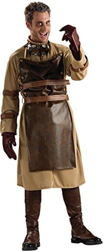 [Adult Mad Scientist Costume] (Leather Apron Costume)