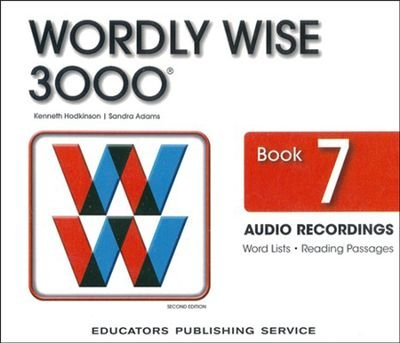 Download Wordly Wise 3000 Audio CDs - Book 7 2nd Edition (Wordly Wise 3000 2nd Edition) pdf epub