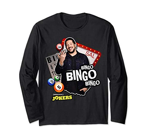 Sal's Bingo Punishment Funny T Shirt Long Sleeve