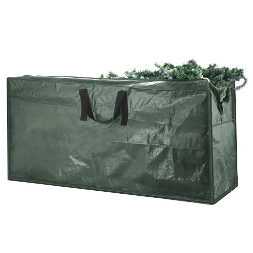 Elf Stor Premium Green Christmas Tree Bag Holiday Extra Large for up to 9' Tree - Trees Christmas Best