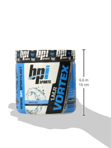 BPI Sports 1.M.R. Vortex Pre-Workout Powder, Snow Cone, 5.3 Ounce