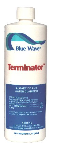 Blue Wave Concentrated Algaecide - Blue Wave Terminator Swimming Pool Algaecide- 1 qt.