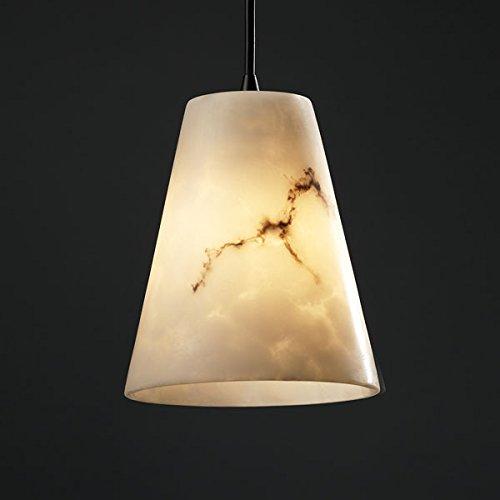 Justice Design FAL-8816-50-DBRZ, LumenAria Mini Cone Pendant, 1 Light, 40 Watts, Bronze ()