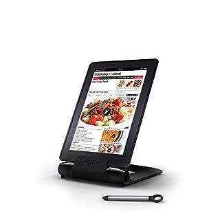 Prepara, Black iPrep Adjustable Stand for phones, tablets, e-readers, Large