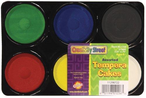 (Chenille Kraft Temper Cakes 6 Assorted Colors)