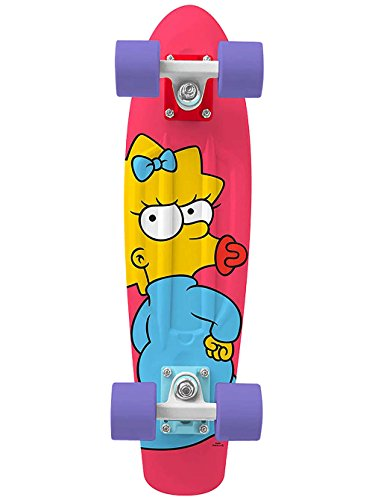 Penny The Simpsons Graphics Complete Skateboard, Maggie, 22
