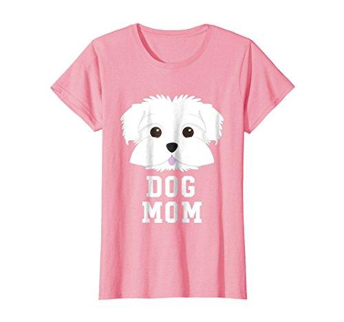 Womens Dog Mom Shirt Maltese - Mothers Day T-Shirt XL - Maltese Womens