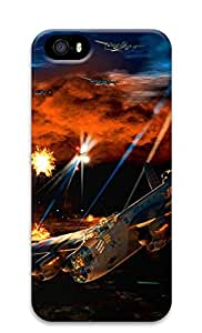 iPhone 5s Case, iPhone 5s Cases - Sky War PC Polycarbonate Hard Case Back Cover for iPhone 5s