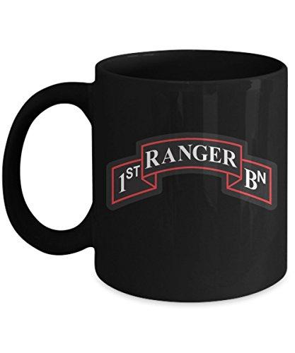 Army Ranger Coffee Mug - 1st BN Scroll ()