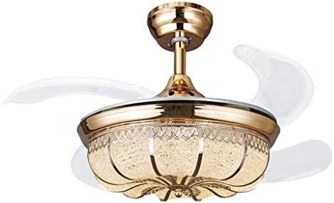 Zyj-Ceiling fan light Luces de Ventiladores de Techo de Cristal ...