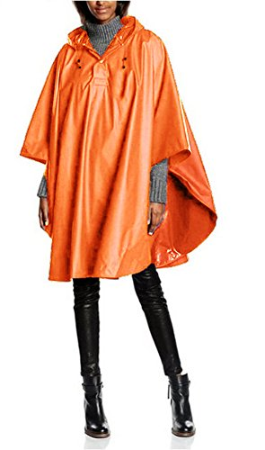 Charles River Apparel Pacific Poncho (Neon Orange)