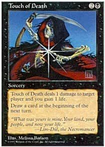 Magic: the Gathering - Touch of Death - Fifth Edition