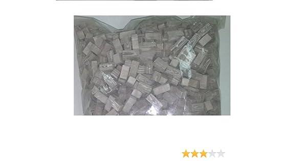 Bolsa 270 piedras aprox. para maquetas. Color marrón grisáceo con vetas. CUIT 2953