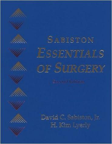 Sabiston Essentials of Surgery: 9780721650197: Medicine & Health