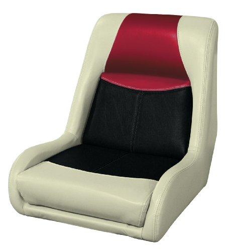857 Series (Wise 8WD1453-857 Blast-Off Tour Series Swept Back Bucket Seat, (Mushroom/Black/Red))
