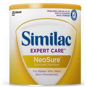 Similac® Expert Care® NeoSure® Powder 371g Can, Non-sterile, Infant Formula with Iron by Similac