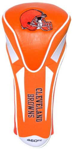 Team Golf NFL Cleveland Browns Golf Club Single Apex Driver Headcover, Fits All Oversized Clubs, Truly Sleek Design