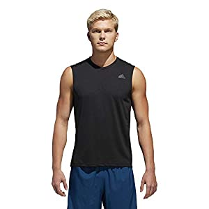 Adidas Own The Run Negro | Camiseta Sin Mangas Hombre