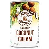 Coconut Cream Organic 400ml Pack of 6 Coconut Merchant