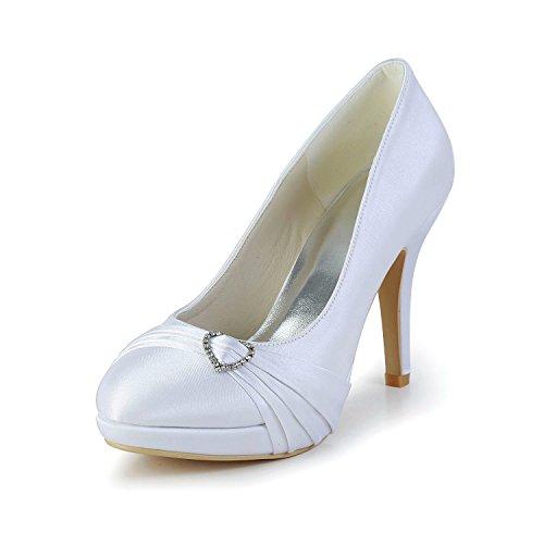 Minitoo , Damen Pumps Ivory-10cm Heel