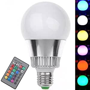 KCRIUS(TM) the lastest 9W Q6 Color Changing Light Bulb With Remote