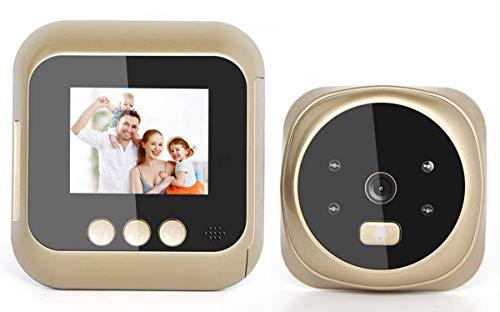 MYYYYI 2,4-Zoll-High-Definition-Screen-Display steuert intelligente Video Tür Automatische Foto-Aufnahme Nachtsicht