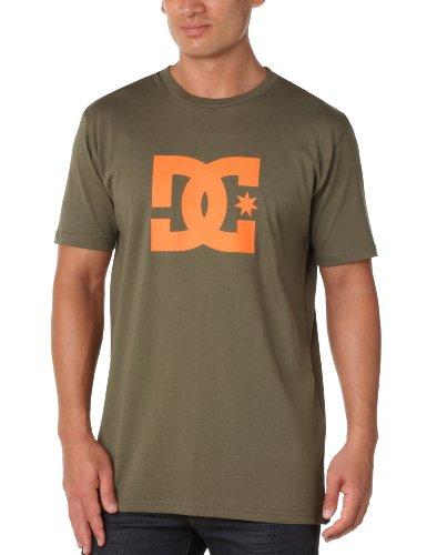 Dc Shoes T-shirt Star Dusty Olive Russet Orange