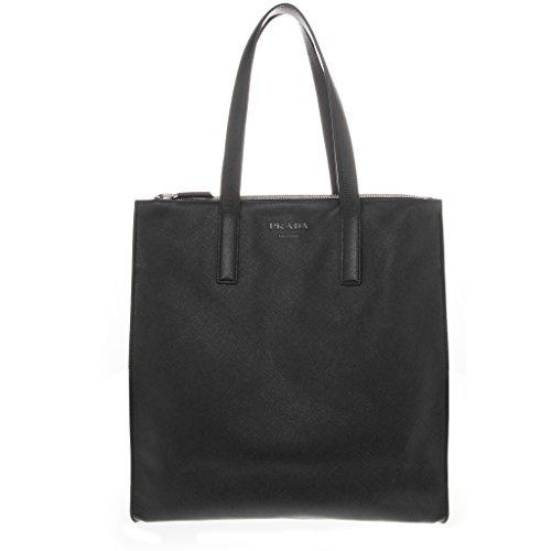 Prada Women's Saffiano Tote Black