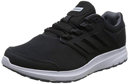 detailed look f9bf9 f6174 De Galaxy ftwr Hombre Zapatillas carbon Para Adidas 4 M S18 Running White  Black core Gris ZFCgxqx