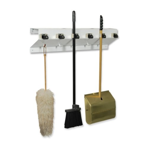 exc3336wht2-ex-cell-kaiser-clincher-333-6-wht2-glossy-mop-broom-holder